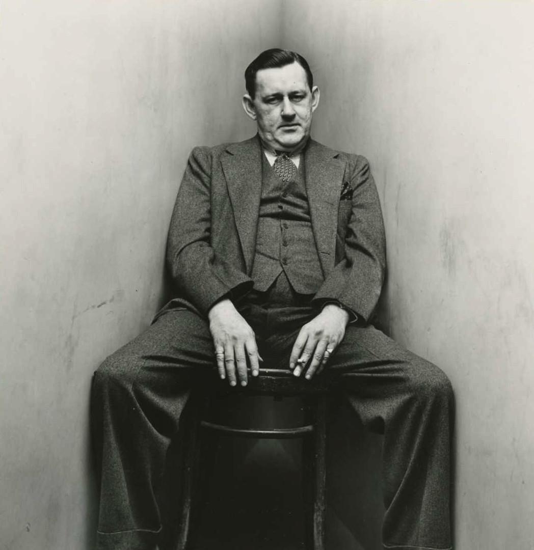 Irving Penn, John O'Hara (2 of 2), New York, 1948