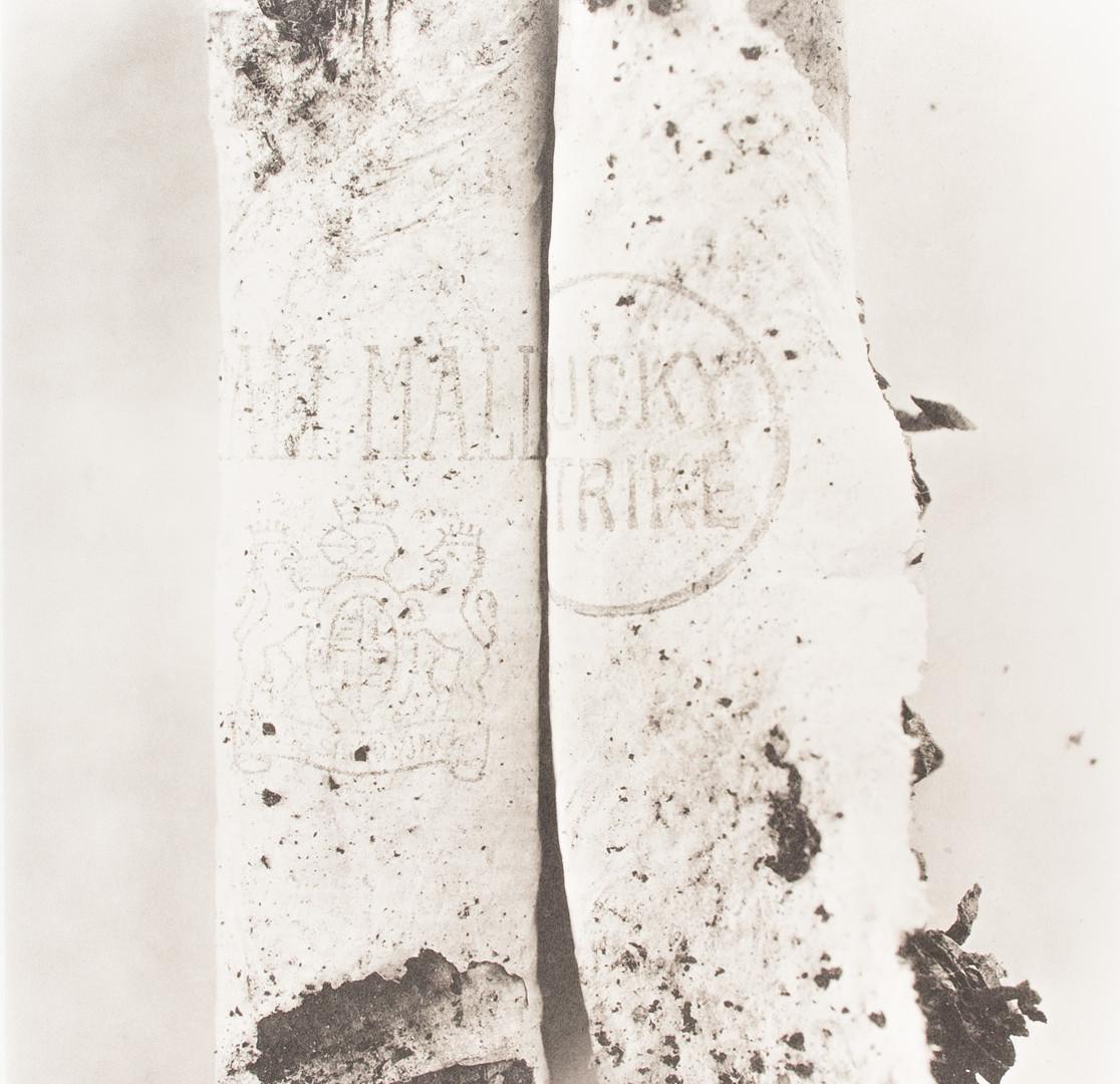 Irving Penn, Cigarette No. 98, New York, 1972
