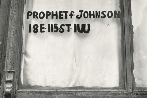 Irving Penn, Prophet F. Johnson (B), New York, 1939