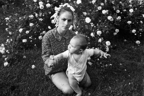 Emmet Gowin, Edith and Elijah, Danville, Virginia, 1968