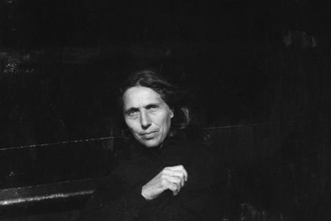 Robert Frank, Iona, Nova Scotia (Sigrid), 1980