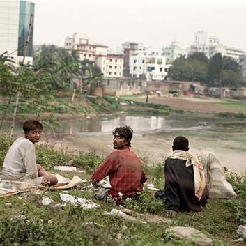 Jim Goldberg, Unemployed, Bangladesh, 2007