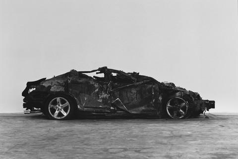 Richard Learoyd, Crashed and burned, 2017