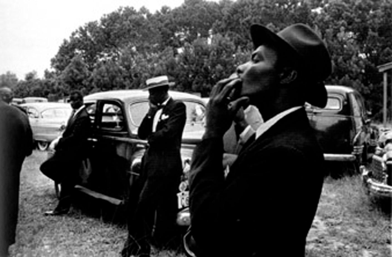 Robert Frank, Funeral - St. Helena, South Carolina, 1955