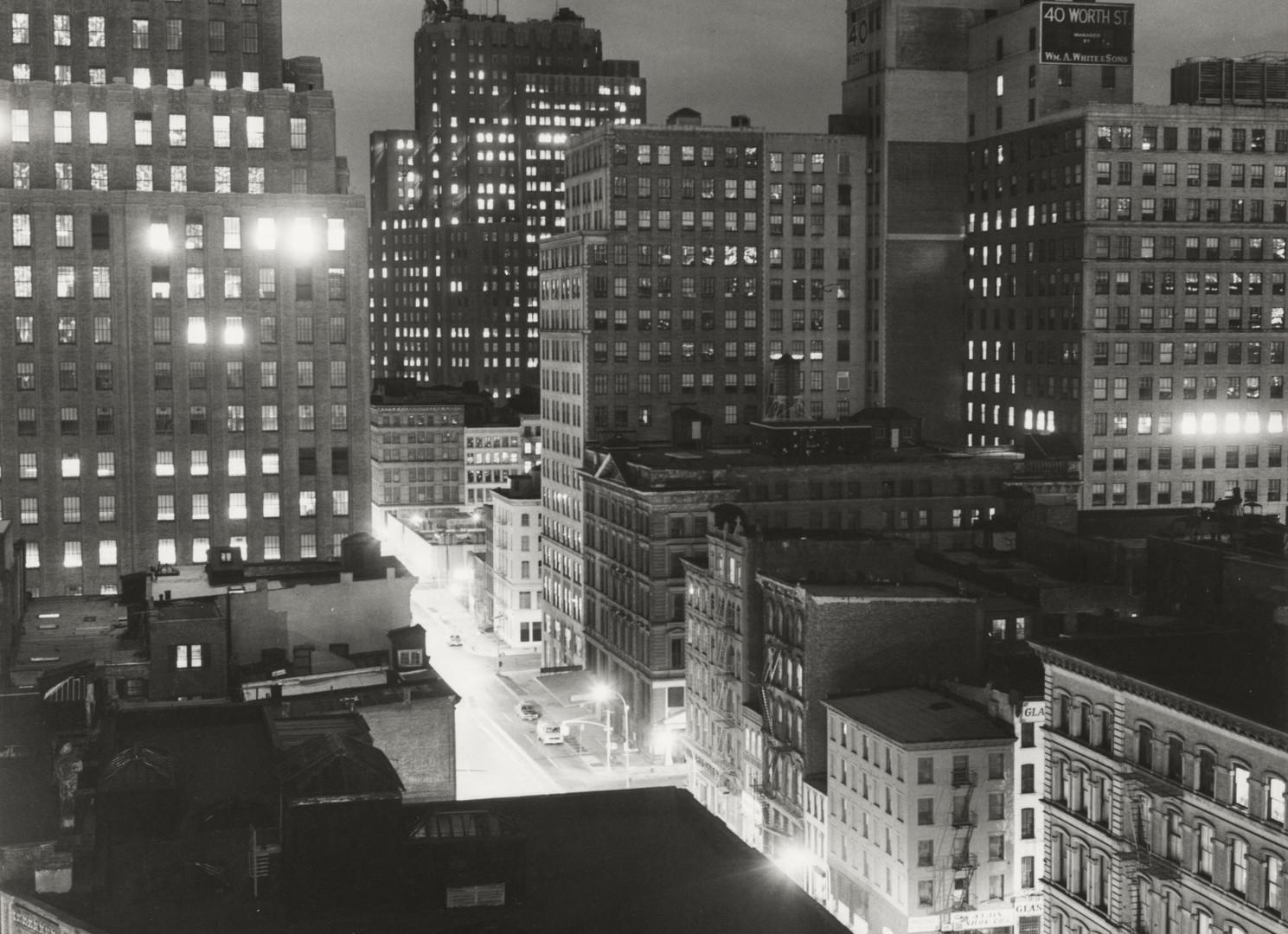 Peter Hujar, Night, Downtown, 1976