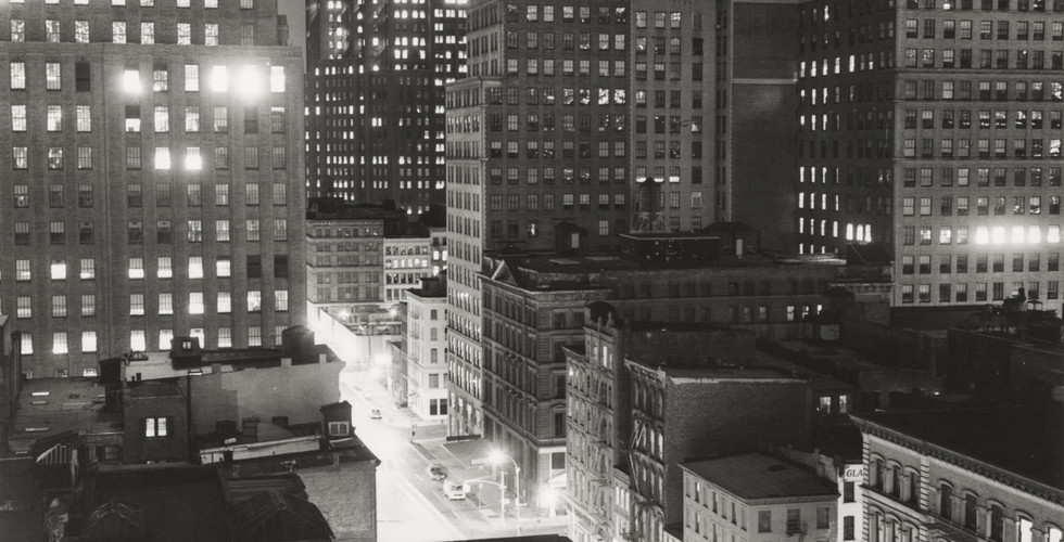 Peter Hujar, Night, Downtown, 1976