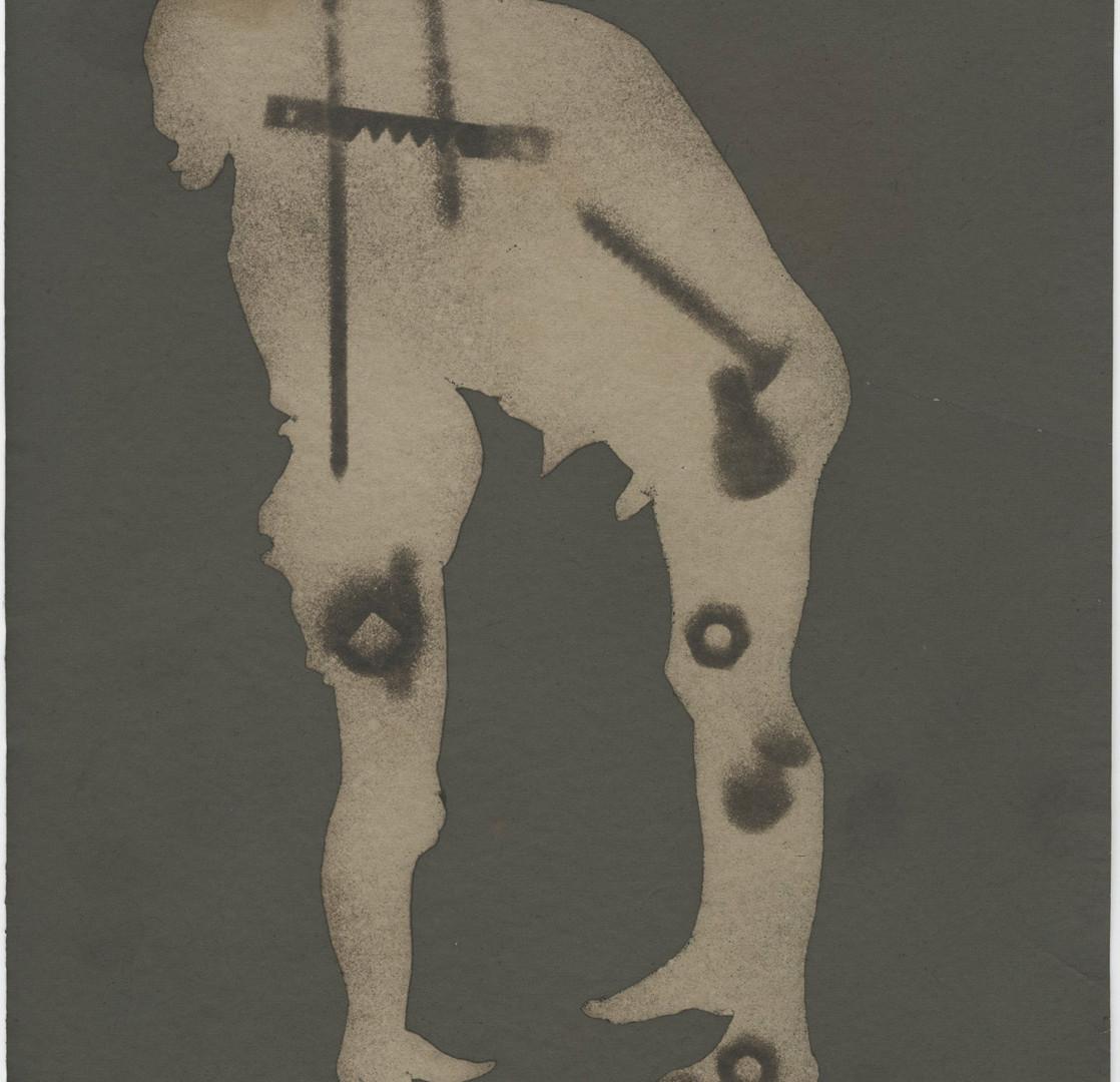 Emmet Gowin, Constellation with Hardware, 2015