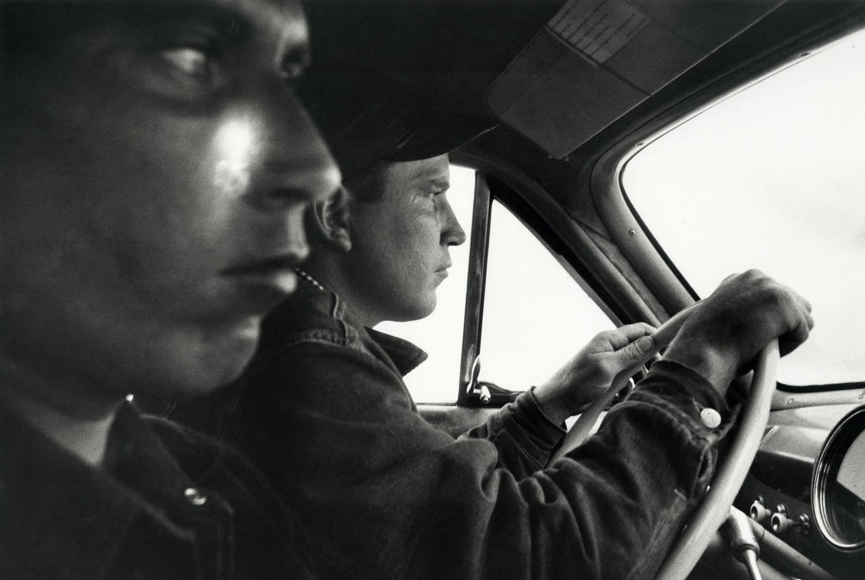 Robert Frank, U.S. 91, Leaving Blackfoot, Idaho, 1956