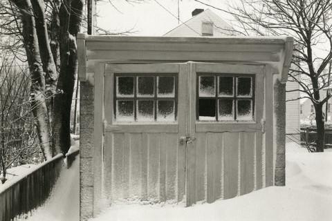 Richard Benson, Garage on Appleby Street, Newport, RI, c. 1976