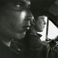 Robert Frank, U.S. 91, Leaving Blackfoot, Idaho, 1956