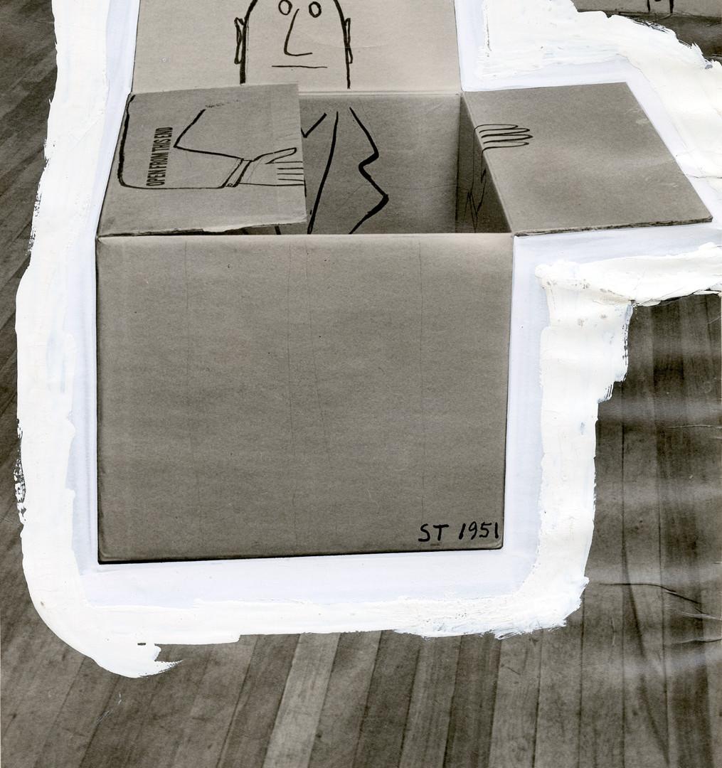 Saul Steinberg, Untitled, c. 1951