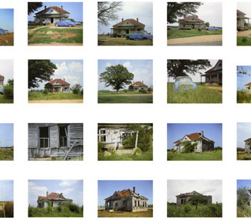 William Christenberry, House and Car, Near Akron, Alabama, 1978-2005