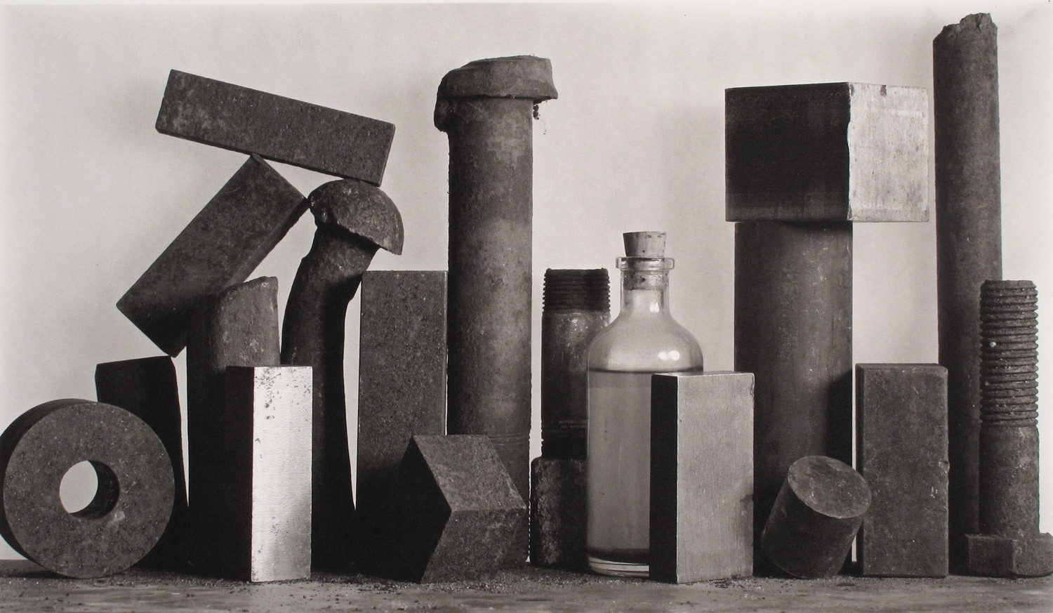 Irving Penn, 18 Pieces with Medicine Bottle, New York, 1980