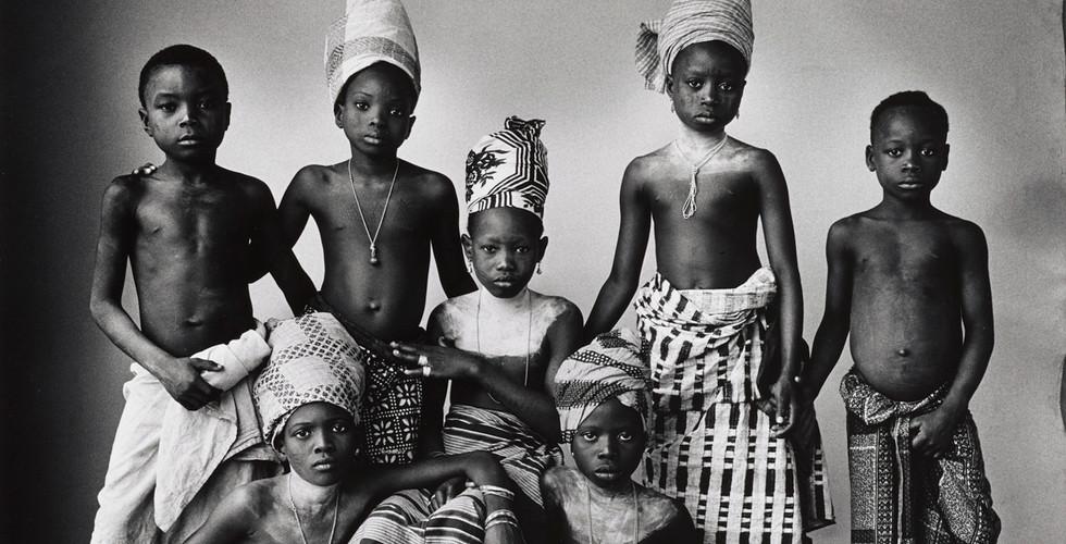 Irving Penn, Dahomey Children, Dahomey, 1967