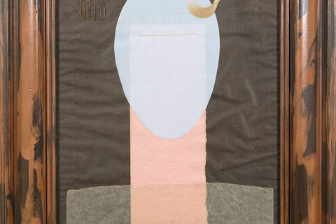 Man Ray (American, 1890-1976), Décollage III, 1917, re-created 1947
