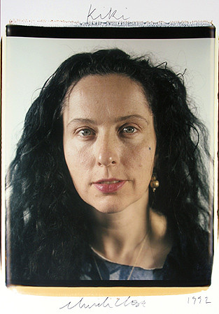 Chuck Close, Kiki Smith, 1992