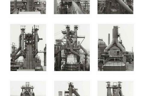 Bernd & Hilla Becher, Blast Furnaces, Frontal Views, 1979-1986