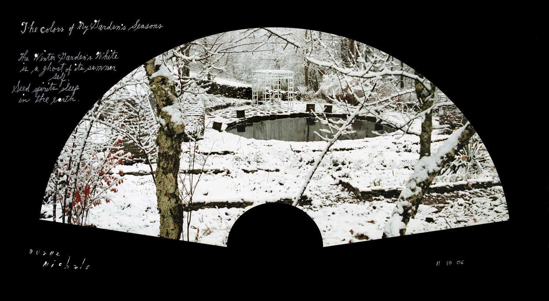 Duane Michals, The Wintergarden's White, 11/10/06