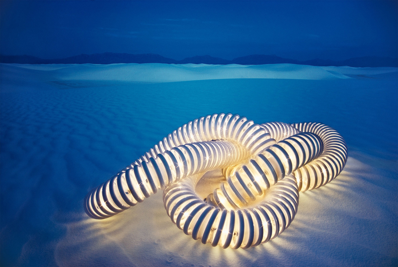 Hiro, Boalum Light, White Sands, New Mexico, 1973