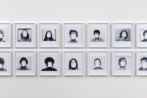Trevor Paglen, They Took the Faces from the Accused and the Dead ..., 2019