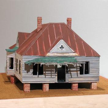 William Christenberry, Abandoned House, 2009