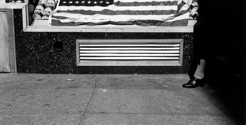 Lee Friedlander, Flag, New York, 1965