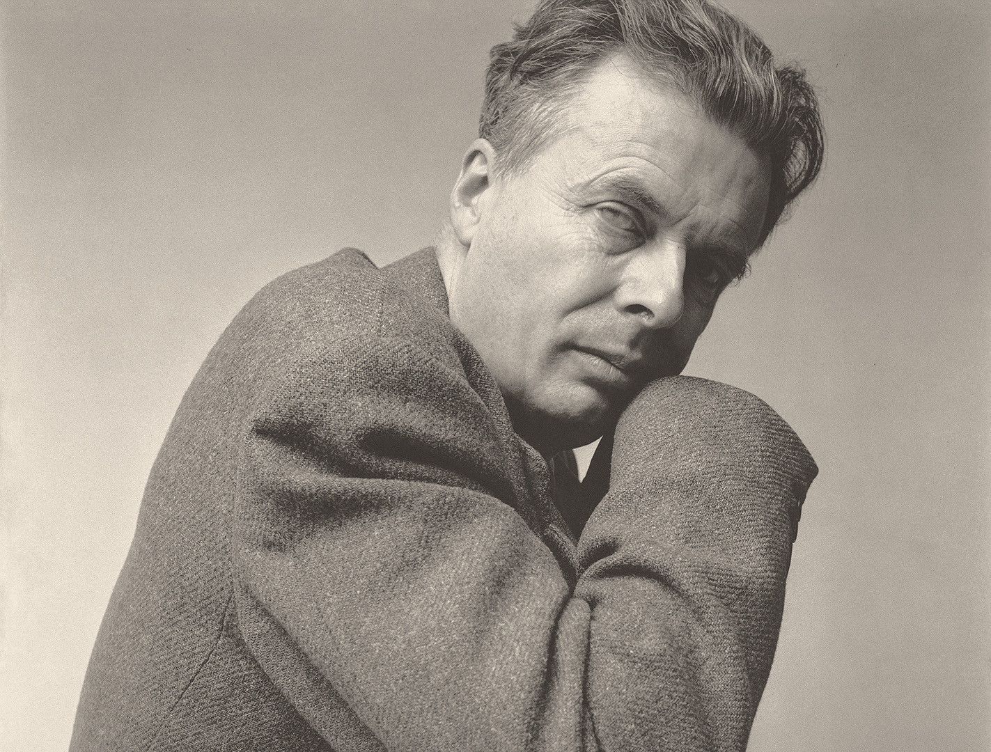 Irving Penn, Aldous Huxley, New York, 1950