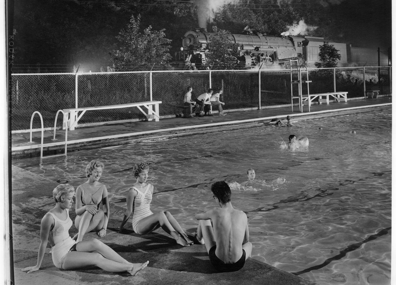 O. Winston Link, Swimming Pool, Welch, West Virginia, n.d.