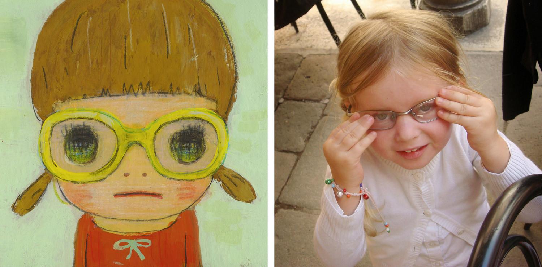 Yoshitomo Nara, Spectacles Girls / Spectacles Girls, 2006/2007