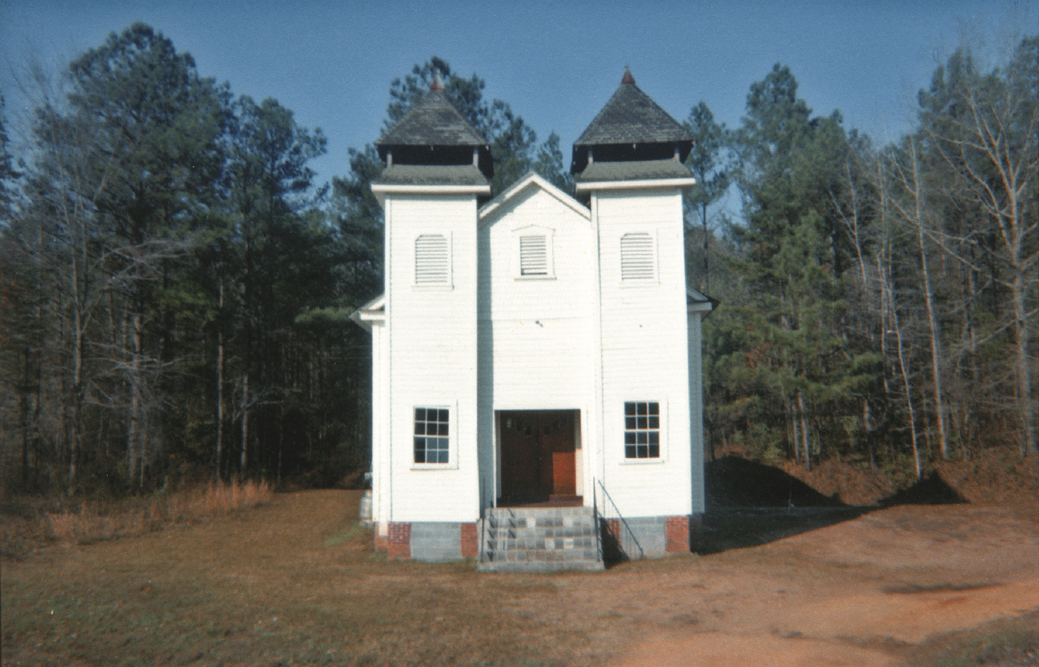 William Christenberry, Church, Sprott, Alabama, 1971
