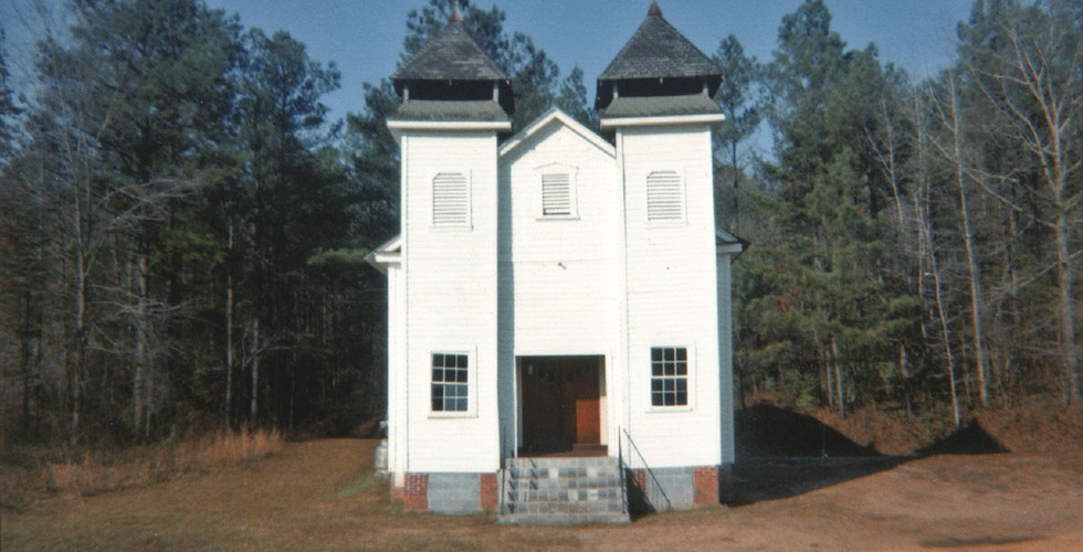 William Christenberry, Church, Sprott, Alabama, 1971