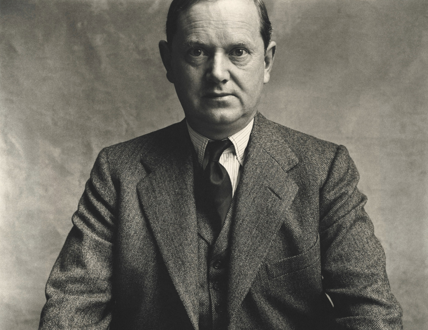 Irving Penn, Evelyn Waugh, London, 1950