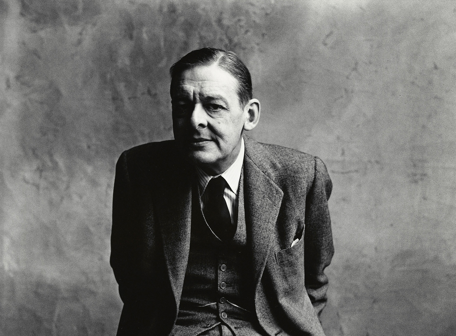 Irving Penn, T.S. Eliot (A), London, 1950