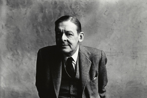 Irving Penn, T.S. Eliot (A), London, 1950