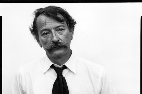 Richard Avedon, John Szarkowski, Curator, New York City, July 30, 1975