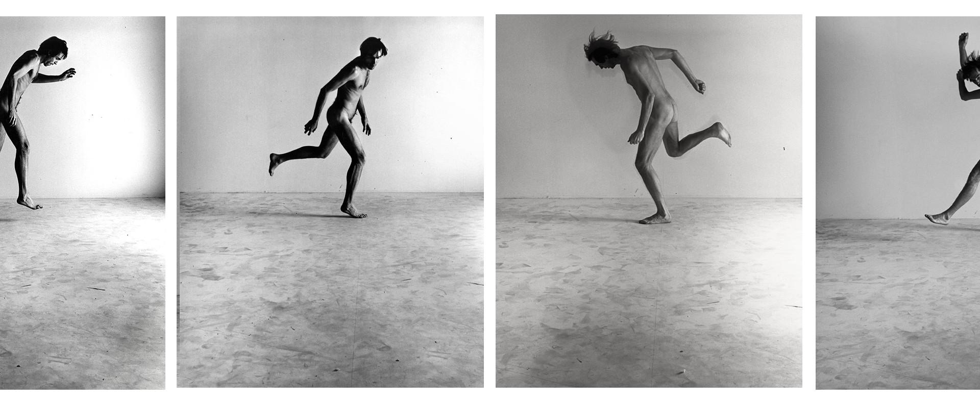 Peter Hujar, Nude Self-Portrait Series #1A, #3, #2, #4, 1966