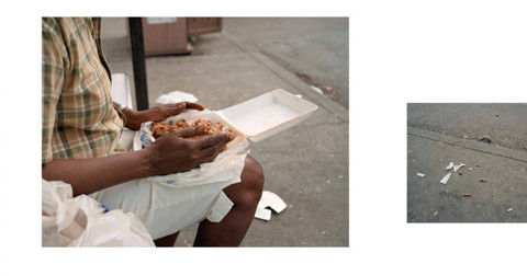 Paul Graham, New Orleans (Woman Eating) (a shimmer of possibility), 2004