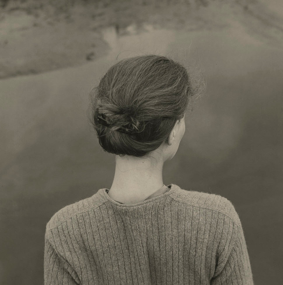 Emmet Gowin, Edith, Chincoteague, Virginia, 1967