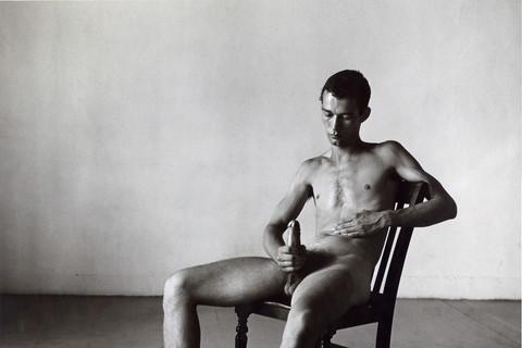 Peter Hujar, Bruce de Sainte Croix, 1978