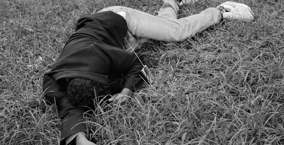 Yto Barrada, Dormeurs (The Sleepers), Tangier, Fig. 2, 2006