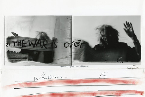 Robert Frank, The War is Over, August 24th, 1998