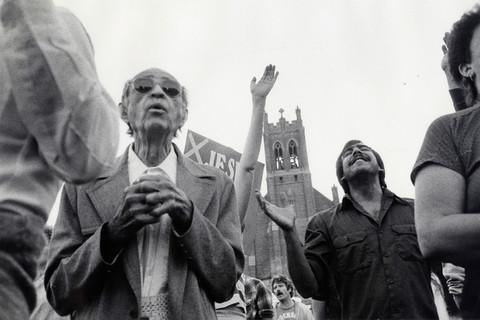Robert Frank, San Francisco Convention, 1984