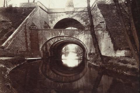 Eugène Atget, Juvisy, Pont des Belles Fontaines, 1902