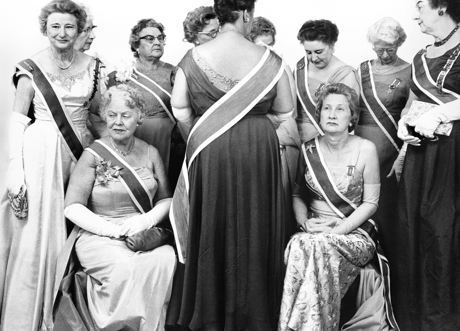 Richard Avedon, The Generals of the Daughters of the American Revolution, DAR Convention, Mayflower Hotel, Washington D.C., October 15, 1963
