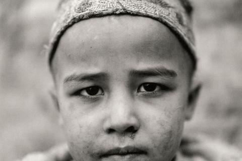 Fazal Sheikh, Afghan boy born in exile, Afghan refugee village, Khairabad, north Pakistan, 1998