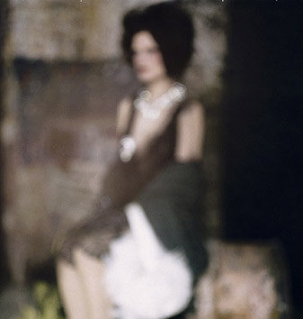 Paolo Roversi, Abstract portrait of Guinevere, Paris, 2008