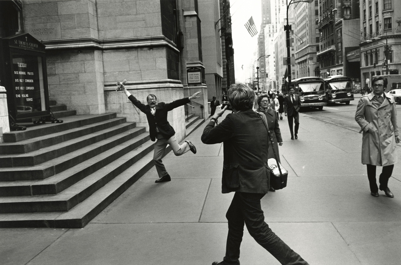 Lee Friedlander, Garry Winogrand and John Szarkowski, New York City, 1975