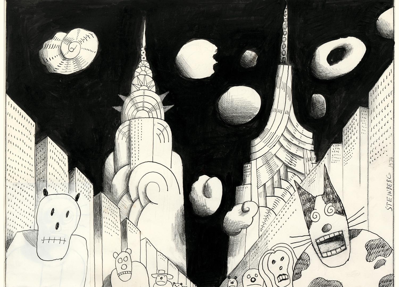 Saul Steinberg, Untitled, 1974
