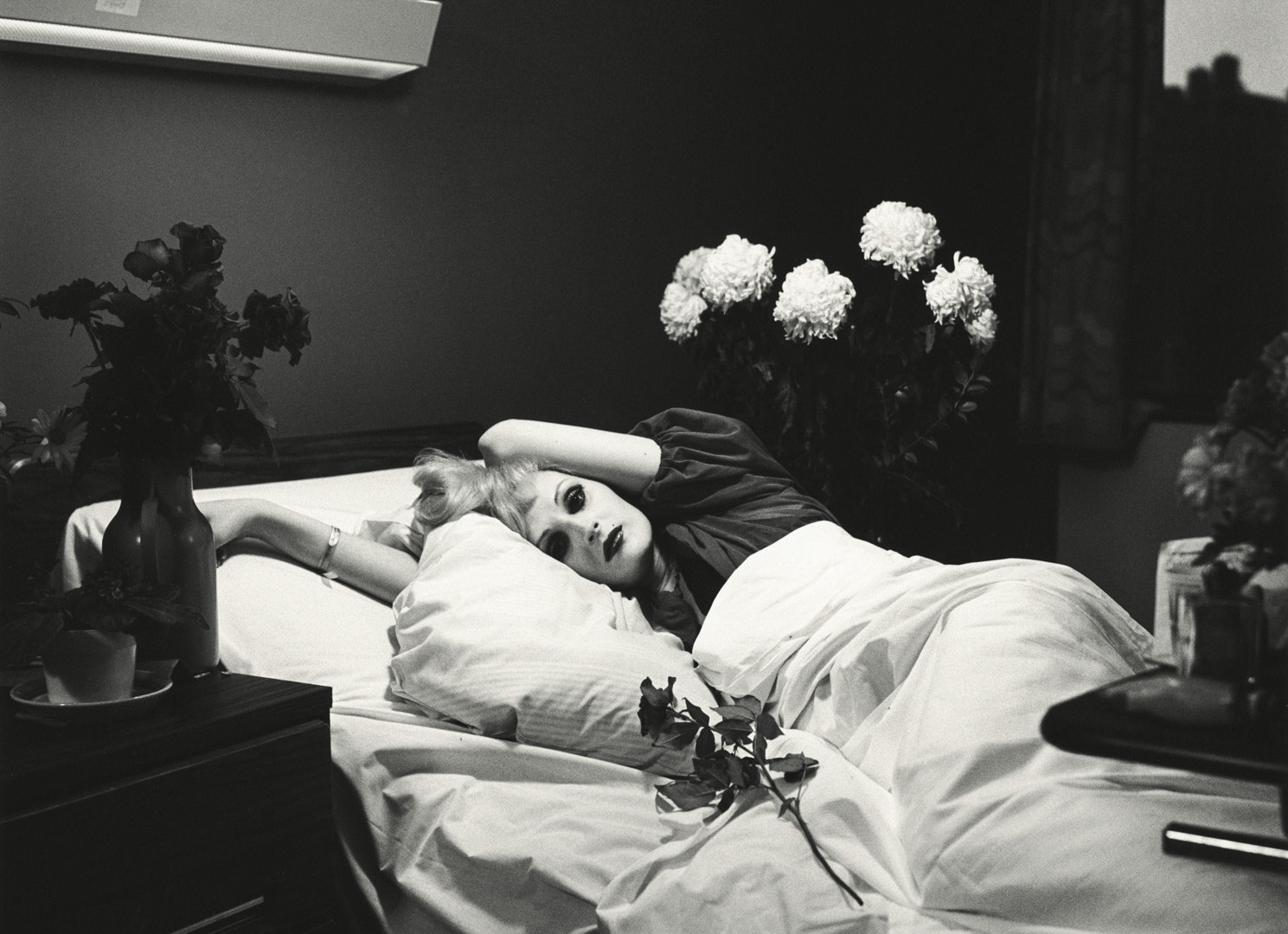 Peter Hujar, Candy Darling on Her Deathbead, 1973