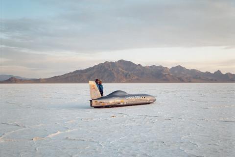 Richard Misrach, Danny Boy, Bonneville Salt Flats, 1992